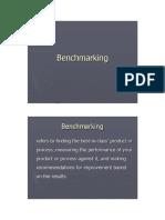 Benchmarking Example