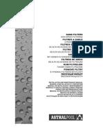 Filtros de Arena Astral Pool Manual Generico de Instalacion y Mantenimiento