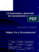 2.5 Autonomia y Desarrollo Del Razonamiento Moral(1)