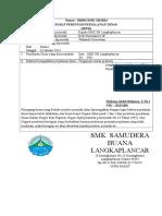 Format Surat SPPD