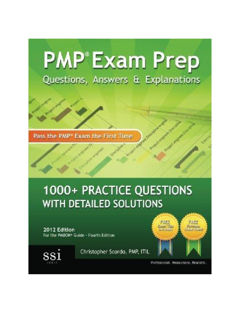 Pmp Exam Prep Questions Answers Explanations 2012 Edition