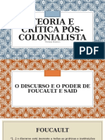 Teoria e Crítica Pós-colonialista - Bonnici