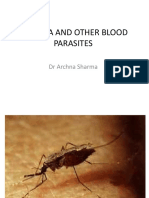 Lecture - Malaria & Other Blood Parasites