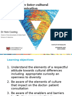 Lecture - Working With Diverse Cultures