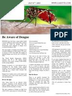 1) Newspaper Article dengue
