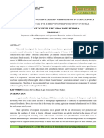 FACTORS AFFECTING WOMEN FARMERS' PARTICIPATION IN AGRICULTURAL EXTENSION SERVICES FOR IMPROVING THE PRODUCTION IN RURAL DISTRICT OF DENDI WEST SHOA ZONE, ETHIOPIA