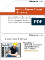 All You Need to Know About Firenze