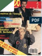 1986 BUSHIDO n°40 Bujin
