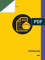 SMA - Materi Pokok - Sosiologi 22x29.7cm