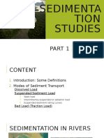 Sedimentation Part 1