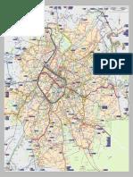 Harta Metrou Bruxelles Mare