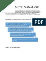 4. Heavy Metals Analysis