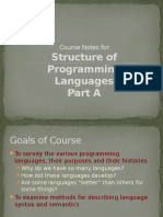 Course Notes on SPL