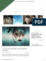La Voce in Maschera_ Meccanismi e Consigli _ Opera BlogOpera Blog