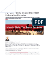 ISIS and the Terror Business