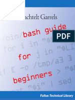 Machtelt Garrels Bash Guide for Beginners