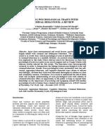 Linking Psychological Traits With Criminal Behavior_A Review - JulyDec2015
