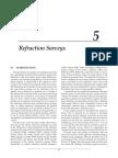 5 Refraction Surveys