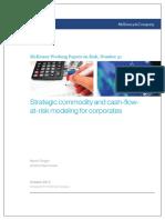 51 Strategic Commodity and Cashflowatrisk Modeling