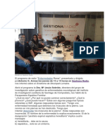 Paraparesia Espastica. 2015 Ultimas.