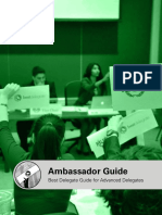 Ambassador Guide for Advanced Mun Ers