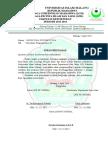 Surat Pernyataan LPJ Seni