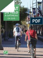 L'état du vélo à Gatineau en 2015
