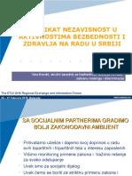 Sindikat Nezavisnost i bezbednost i zdravlje na radu.ppt