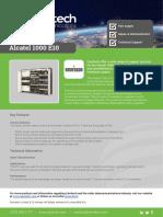 Alcatel 1000 E10 - Carritech Telecommunications