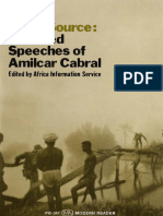 Amilcar Cabral Return to the Source Selected Speeches by Amilcar Cabral 2