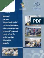 MANUAL PARA EL DIAGNOSTICO DEK COMPORTAMIENTO DE LA ENFERMEDAD DIARREICA Y LA INTERVENCION PREVENTIVA - MINSA.pdf