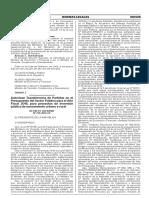 Decreto de Agua y Desague de Cotaruse Integral