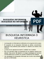 Busqueda Informada - No Informada