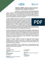 ONU-MUJERES, ONU-DH y UNFPA rechazan reforma regresiva  para los derechos de las mujeres en Veracruz
