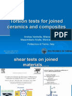 Torsion and Mechanical Tests