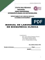 Manual de Bioquímica Clínica 2014-2