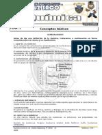 Quimica - 1er Año - I Bimestre - 2014