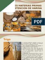 MATERIAS PRIMAS PARA LA OBTENCION DE HARINA.pptx