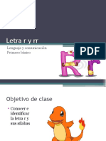 Letra r y rr