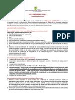 Lista de Espera 2016.2 (Campus Iguatu)