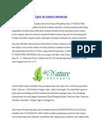 Agen Penjual Obat de Nature Indonesia