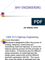 Highway Engineering 1