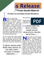 Newtek Probe Material(1)