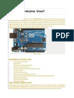 Apa Itu Arduino Uno