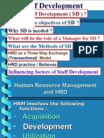 Staff Development in Organisation
