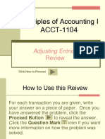 ACCT 1104 Adjustments Review