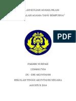 Paper Agama