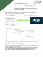 math mortgage project