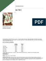 Free Crochet Patterns - Rose Afghan - Number 742-1-2014-07-12