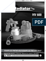 Manual Hv 600
